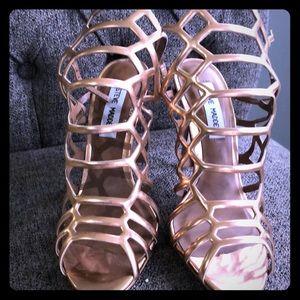 124fcbccbf74 Steve Madden slithur caged heel sandal. Size 6.5